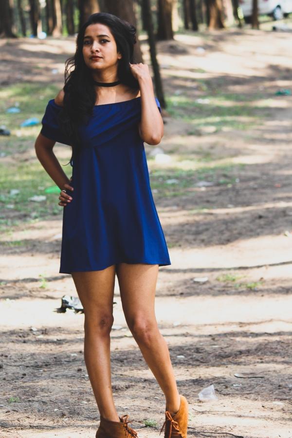 Little Blue Dress:-*